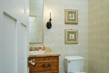 Architectural House Design - Powder Room