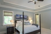 European Style House Plan - 5 Beds 4 Baths 4221 Sq/Ft Plan #929-855 Interior - Master Bedroom