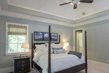 Architectural House Design - European Interior - Master Bedroom Plan #929-855