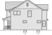Traditional Style House Plan - 3 Beds 2.5 Baths 1664 Sq/Ft Plan #46-890 Exterior - Other Elevation