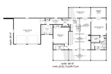 Country Floor Plan - Main Floor Plan Plan #932-37