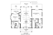 Country Floor Plan - Main Floor Plan Plan #932-35