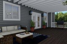 House Plan Design - Traditional Exterior - Outdoor Living Plan #1060-8