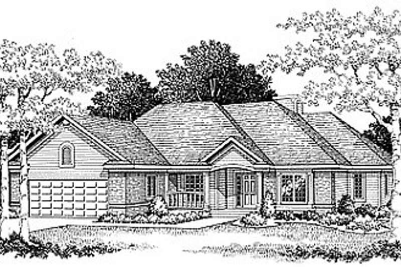Traditional Exterior - Front Elevation Plan #70-277