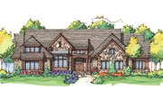 Craftsman Style House Plan - 4 Beds 4 Baths 3200 Sq/Ft Plan #929-898