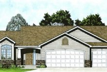 House Design - Craftsman Exterior - Front Elevation Plan #58-169