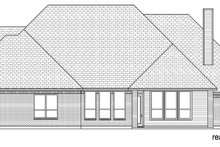 House Design - Traditional Exterior - Rear Elevation Plan #84-611
