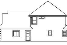 Architectural House Design - Mediterranean Exterior - Other Elevation Plan #124-356
