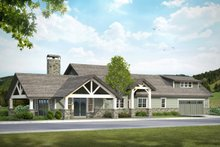 Craftsman Exterior - Front Elevation Plan #124-988