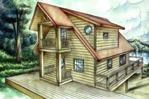 Home Plan Design - Modern Exterior - Front Elevation Plan #117-227