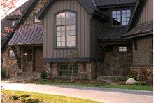 Dream House Plan - European style home, rear elevation