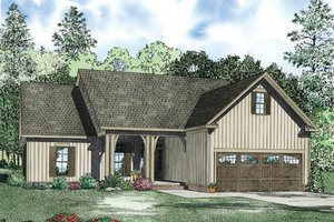 Traditional Exterior - Front Elevation Plan #17-2379