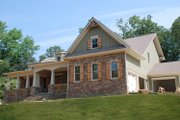 Country Style House Plan - 3 Beds 3.5 Baths 3307 Sq/Ft Plan #419-267 Exterior - Front Elevation