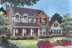Traditional Exterior - Front Elevation Plan #417-164