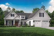 Craftsman Style House Plan - 3 Beds 2.5 Baths 2004 Sq/Ft Plan #430-140 Exterior - Front Elevation