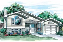 House Plan Design - Contemporary Exterior - Front Elevation Plan #47-778
