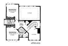 Contemporary Floor Plan - Upper Floor Plan Plan #942-55