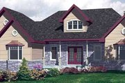 Farmhouse Style House Plan - 2 Beds 1.5 Baths 1748 Sq/Ft Plan #138-293 Exterior - Front Elevation