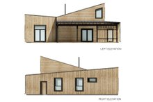 Architectural House Design - Cabin Exterior - Other Elevation Plan #924-16