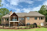 Craftsman Style House Plan - 5 Beds 5 Baths 3644 Sq/Ft Plan #437-105 Exterior - Rear Elevation