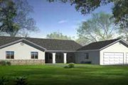 Traditional Style House Plan - 3 Beds 2 Baths 2501 Sq/Ft Plan #1-1468