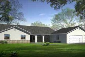 Traditional Exterior - Front Elevation Plan #1-1468