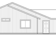 Ranch Exterior - Other Elevation Plan #124-888