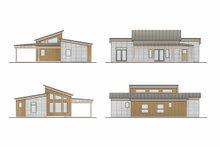 Architectural House Design - Cabin Photo Plan #924-14