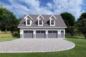 Traditional Exterior - Front Elevation Plan #126-162