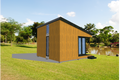 Modern Style House Plan - 1 Beds 1 Baths 264 Sq/Ft Plan #549-11 Exterior - Rear Elevation