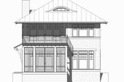 Beach Style House Plan - 4 Beds 3.5 Baths 2454 Sq/Ft Plan #901-130 Exterior - Front Elevation