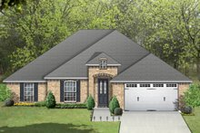 Traditional Exterior - Front Elevation Plan #84-605