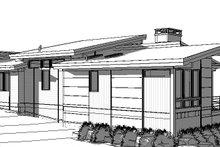 House Plan Design - Modern Exterior - Other Elevation Plan #895-120