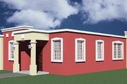 House Plan - 3 Beds 2 Baths 1404 Sq/Ft Plan #495-2 Exterior - Rear Elevation