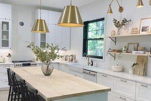 Country Interior - Kitchen Plan #23-2670