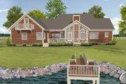 Beach Style House Plan - 3 Beds 3 Baths 2183 Sq/Ft Plan #56-640