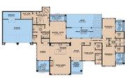 Prairie Style House Plan - 4 Beds 3.5 Baths 3092 Sq/Ft Plan #923-209