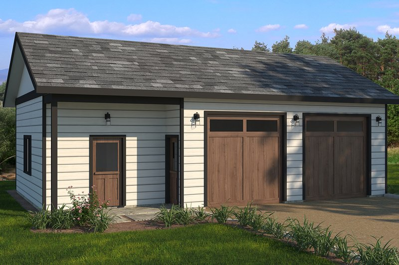 House Plan Design - Traditional Exterior - Front Elevation Plan #895-107