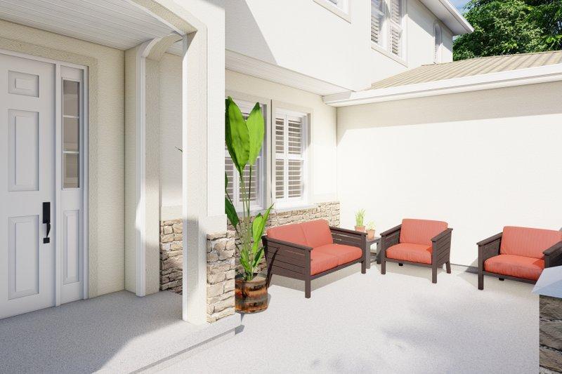 House Plan Design - Mediterranean Exterior - Other Elevation Plan #1060-29