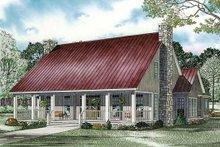 House Plan Design - Farmhouse Exterior - Front Elevation Plan #17-2441
