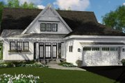 Farmhouse Style House Plan - 3 Beds 3.5 Baths 2453 Sq/Ft Plan #51-1146 Exterior - Front Elevation
