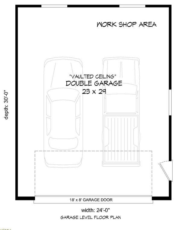 Dream House Plan - Contemporary Floor Plan - Main Floor Plan #932-117