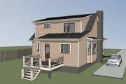 Southern Style House Plan - 3 Beds 2.5 Baths 1520 Sq/Ft Plan #79-212