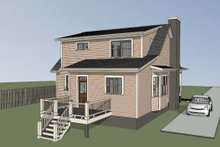 Southern Exterior - Other Elevation Plan #79-212