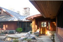 Craftsman Exterior - Front Elevation Plan #454-14