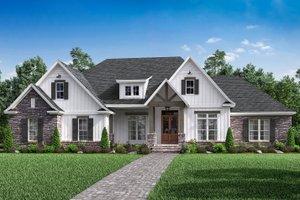 Craftsman Exterior - Front Elevation Plan #430-170