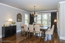 House Plan Design - Ranch Interior - Dining Room Plan #929-1007