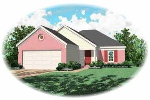 Traditional Exterior - Front Elevation Plan #81-150