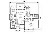 Craftsman Style House Plan - 3 Beds 4.5 Baths 4683 Sq/Ft Plan #20-2454