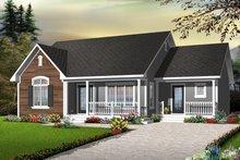 House Design - Cottage Exterior - Front Elevation Plan #23-2279